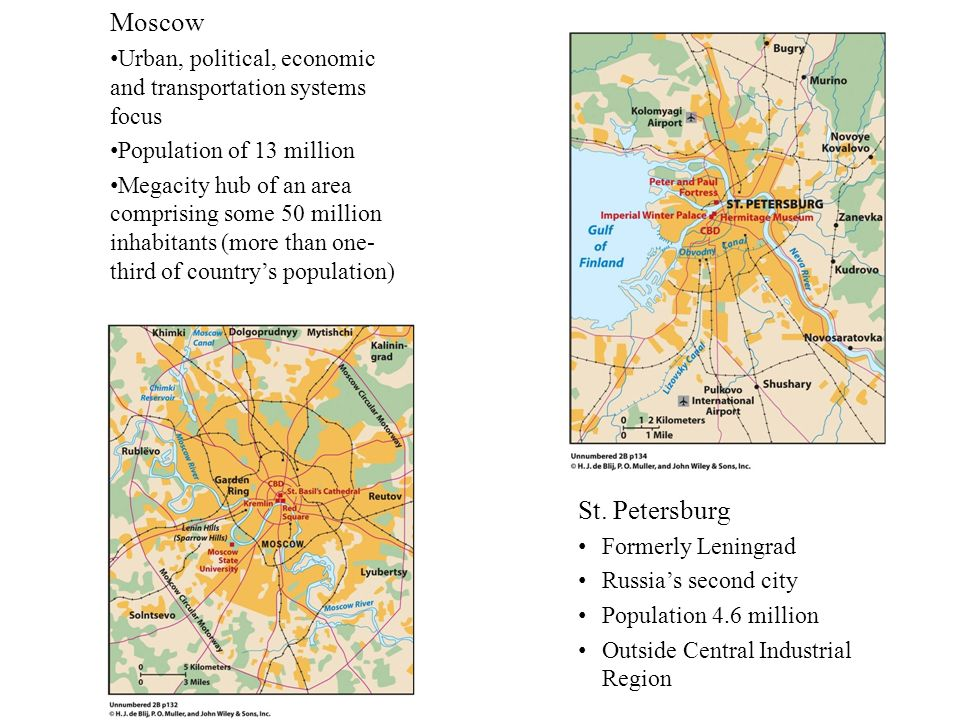 Moscow Urban, political, economic and transportation systems focus. Population of 13 million.