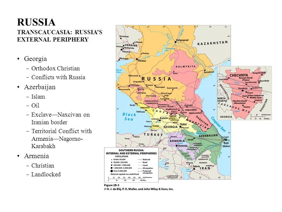 RUSSIA TRANSCAUCASIA: RUSSIA'S EXTERNAL PERIPHERY