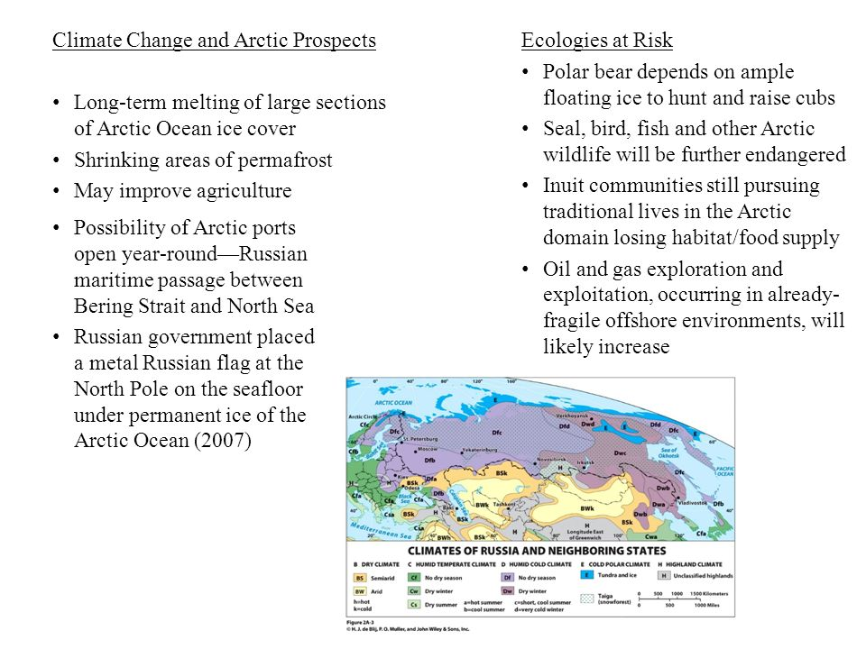 Climate Change and Arctic Prospects
