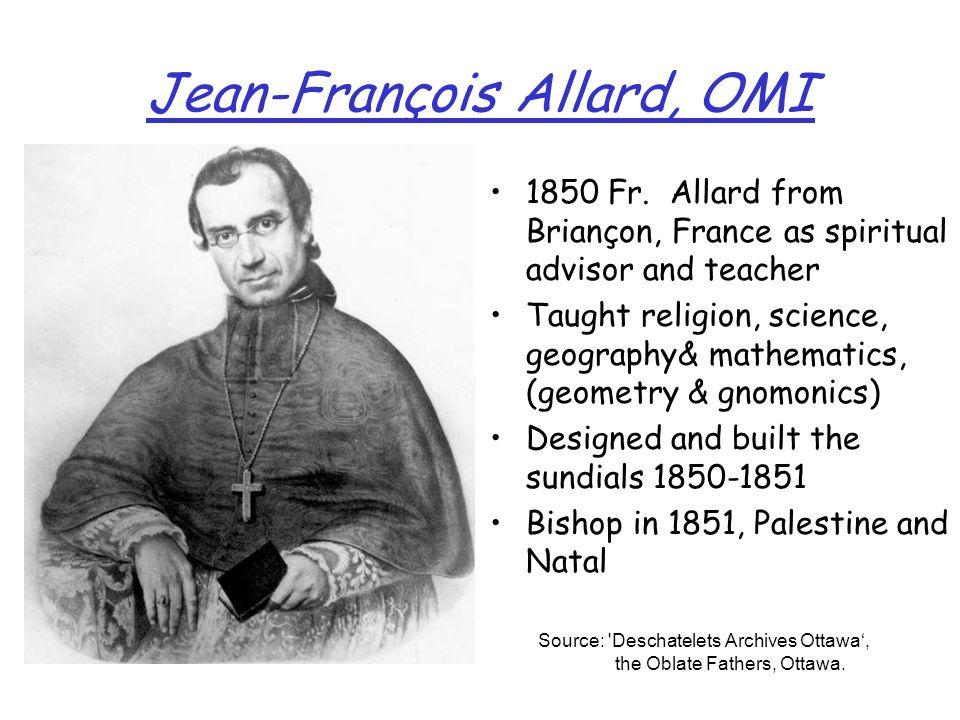 Jean-François Allard, OMI