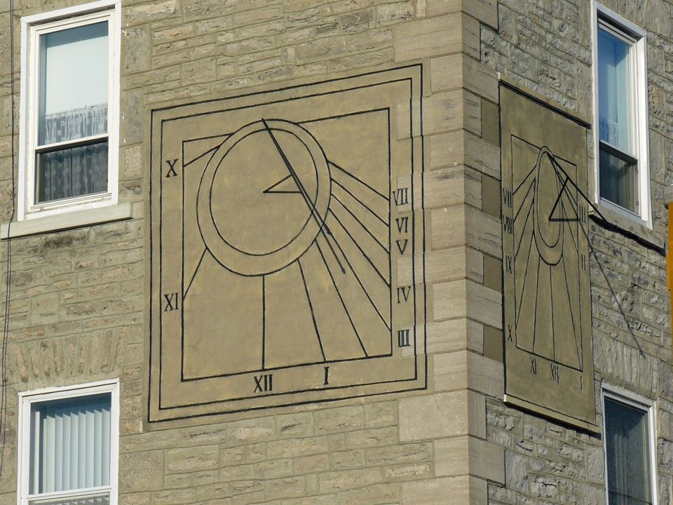 These sundials, very much in the French tradition, seemed to be original, accurate and unique.