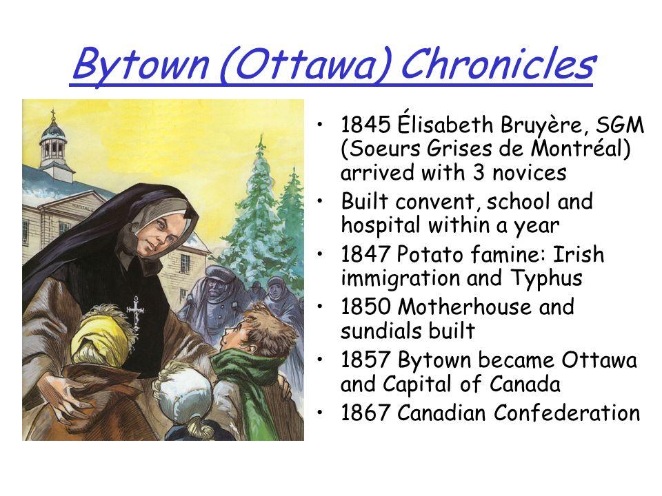 Bytown (Ottawa) Chronicles