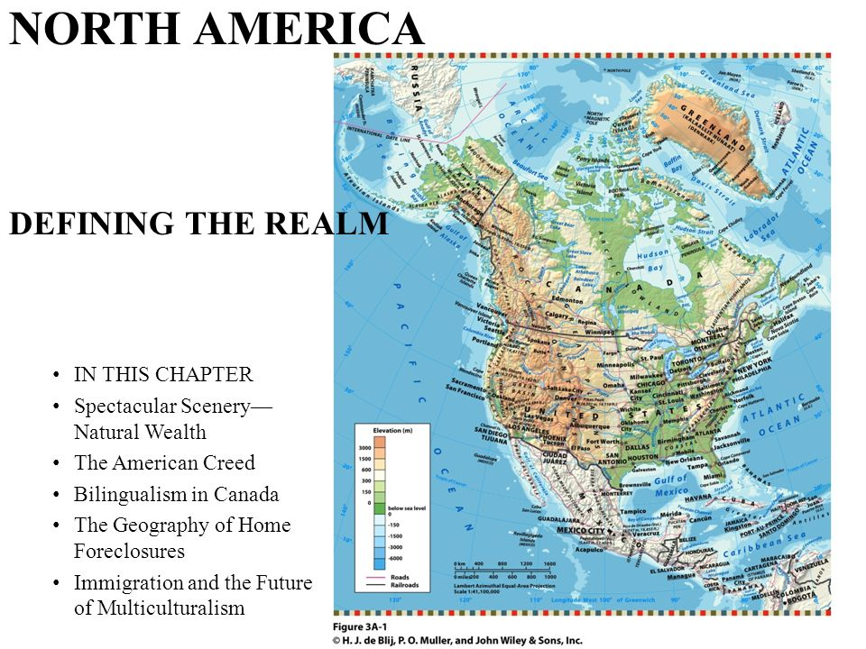 NORTH AMERICA DEFINING THE REALM IN THIS CHAPTER