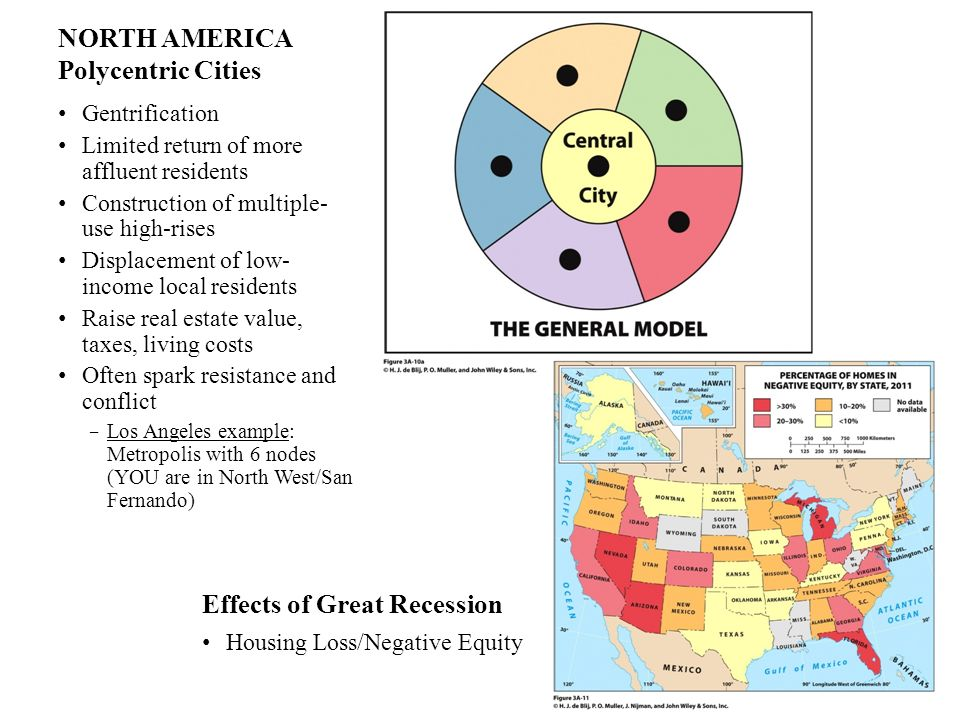 NORTH AMERICA Polycentric Cities