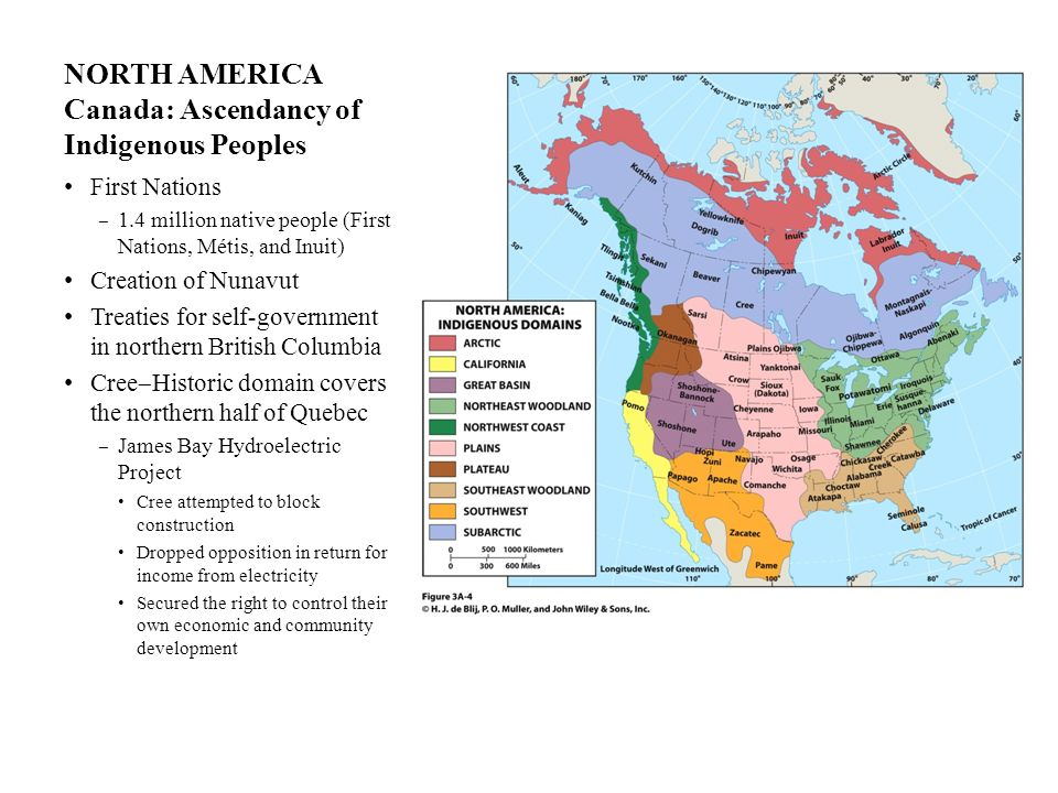 NORTH AMERICA Canada: Ascendancy of Indigenous Peoples