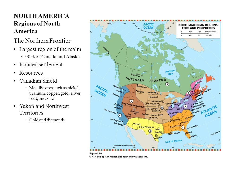 NORTH AMERICA DEFINING THE REALM IN THIS CHAPTER - ppt ...
