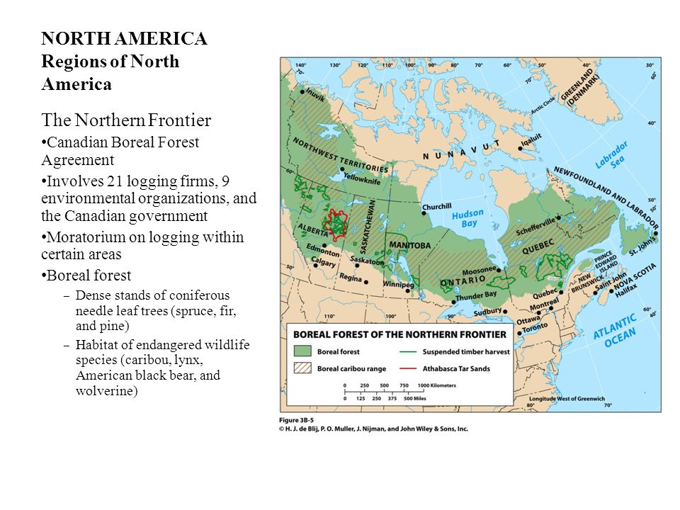 NORTH AMERICA Regions of North America