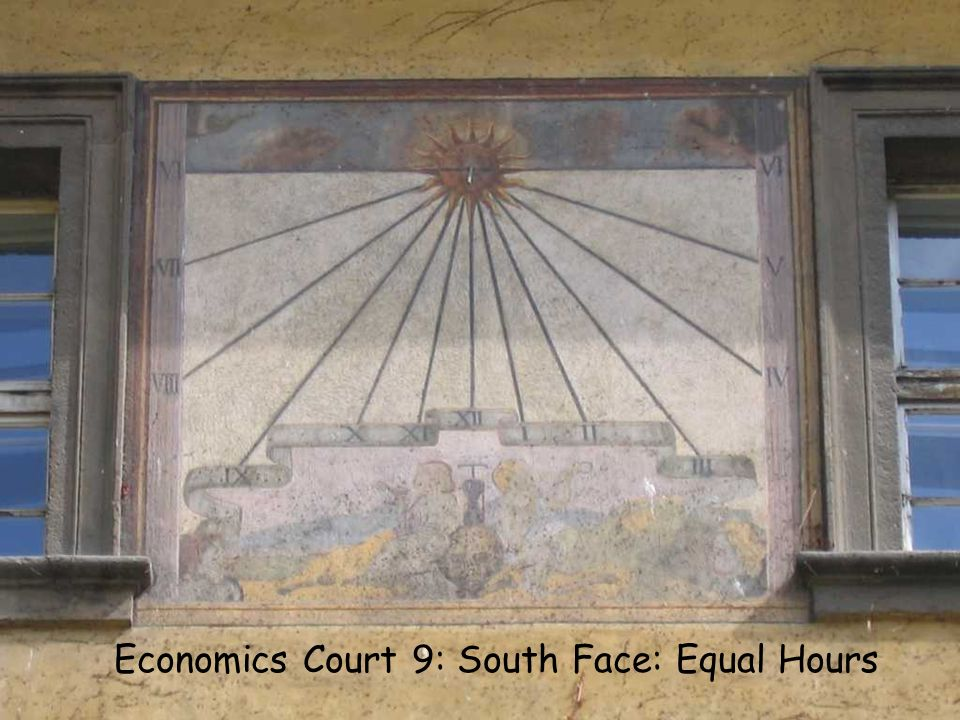 EC 9 S Equal Economics Court 9: South Face: Equal Hours