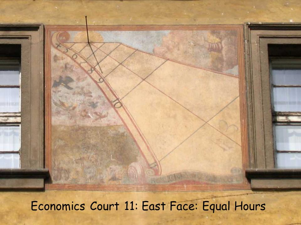 EC11 E Equal Economics Court 11: East Face: Equal Hours