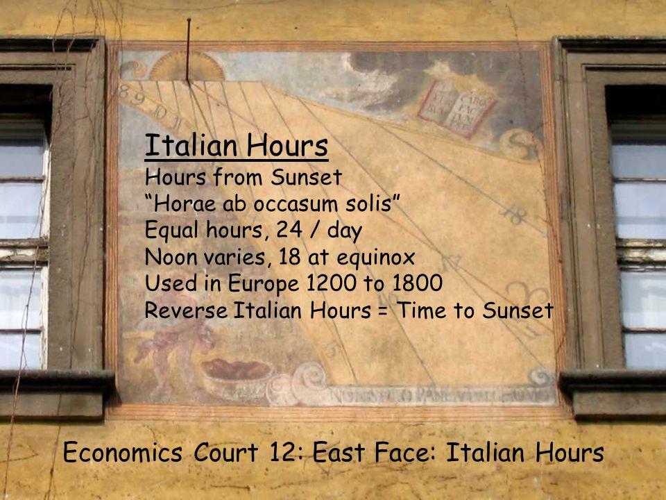 EC12 S Italian Italian Hours