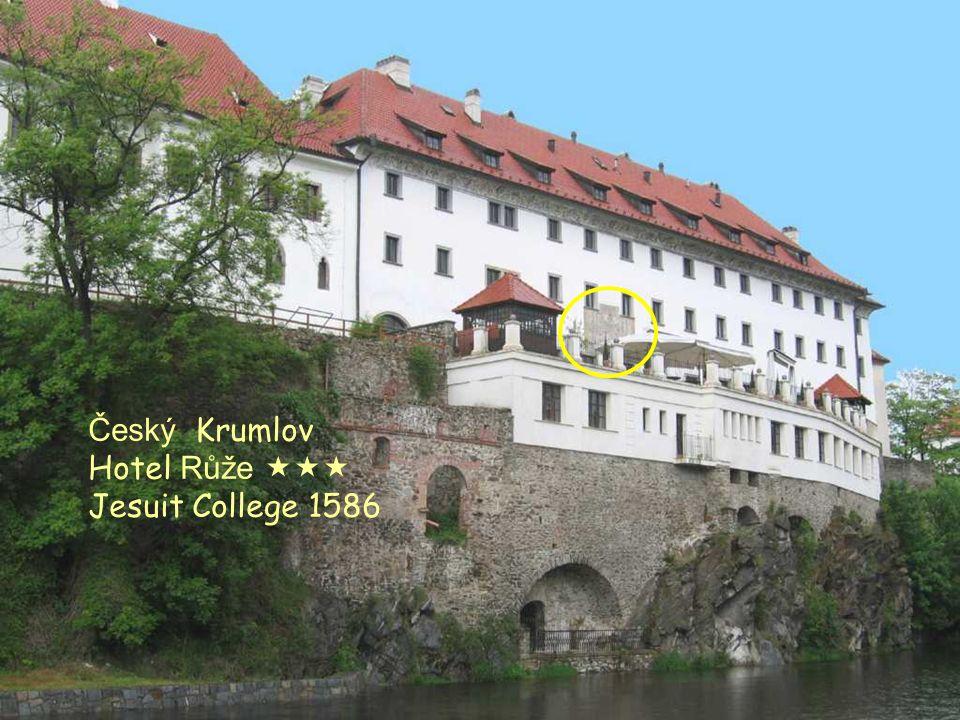 Hotel Růže Český Krumlov Hotel Růže  Jesuit College 1586