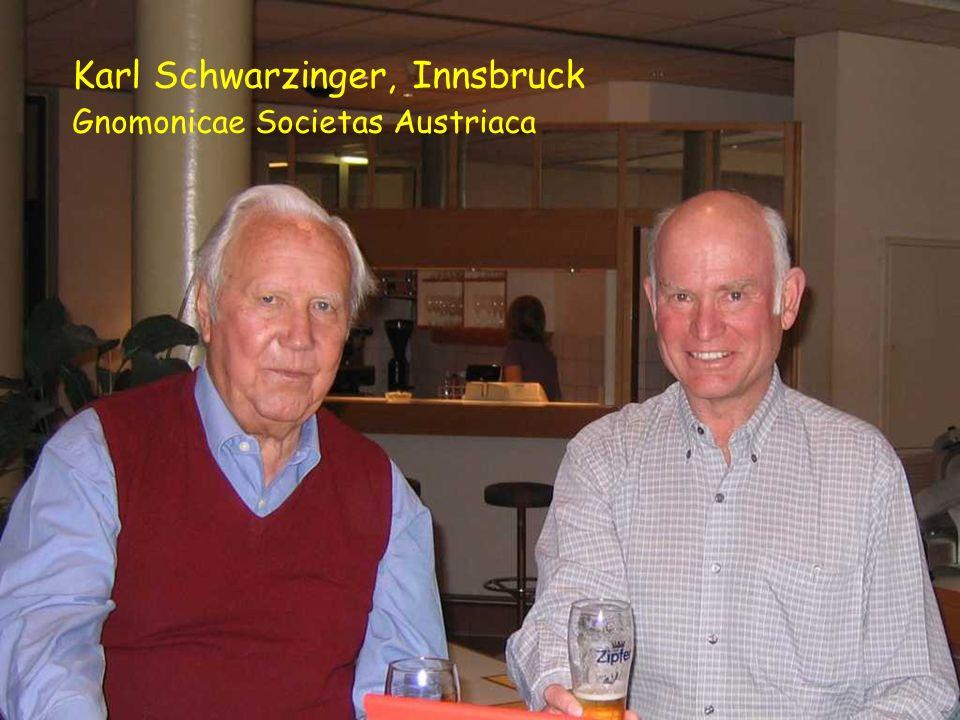 Karl Schwarzinger, Innsbruck