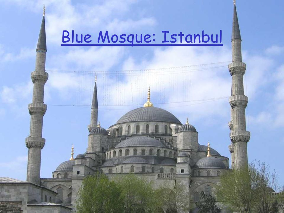 Blue Mosque: Istanbul
