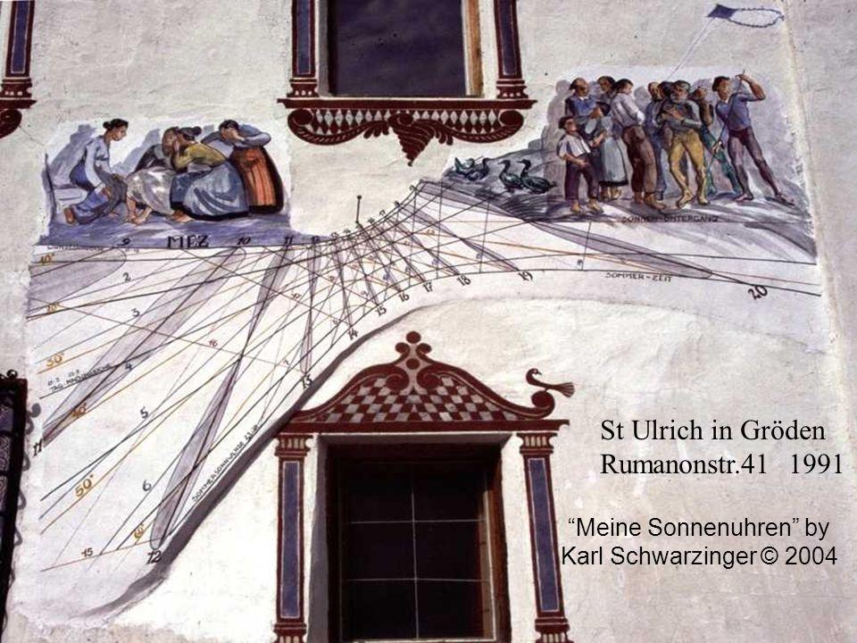 Meine Sonnenuhren by Karl Schwarzinger © 2004