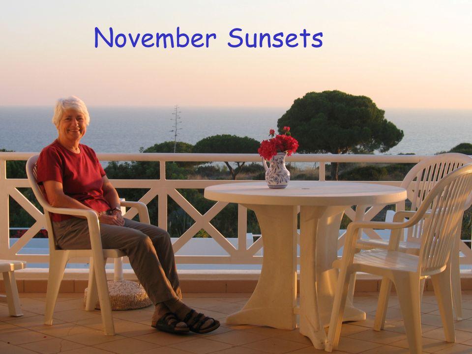 November Sunsets