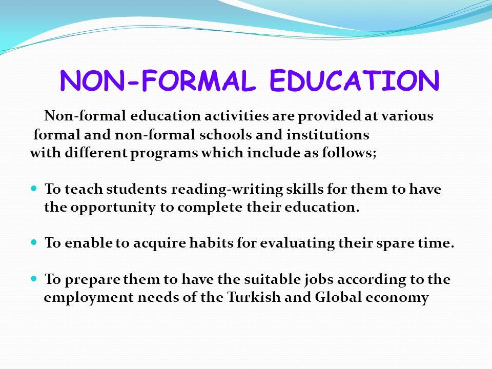 formal vs non formal education (kudoz) english to arabic translation of formal vs informal vs non-formal [curriculum - education / pedagogy.