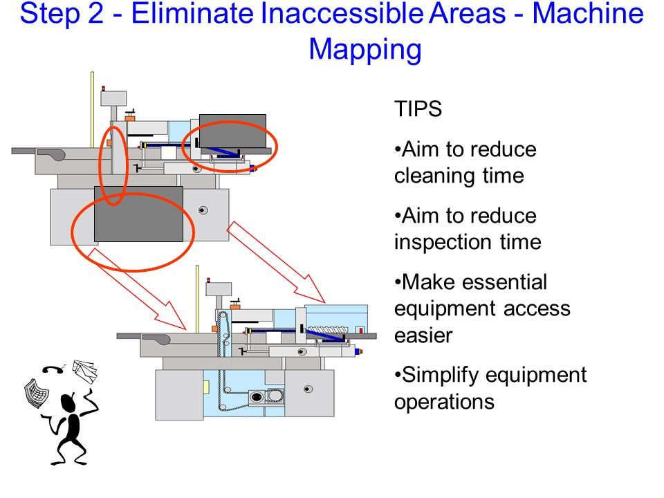 Step 2 - Eliminate Inaccessible Areas - Machine Mapping