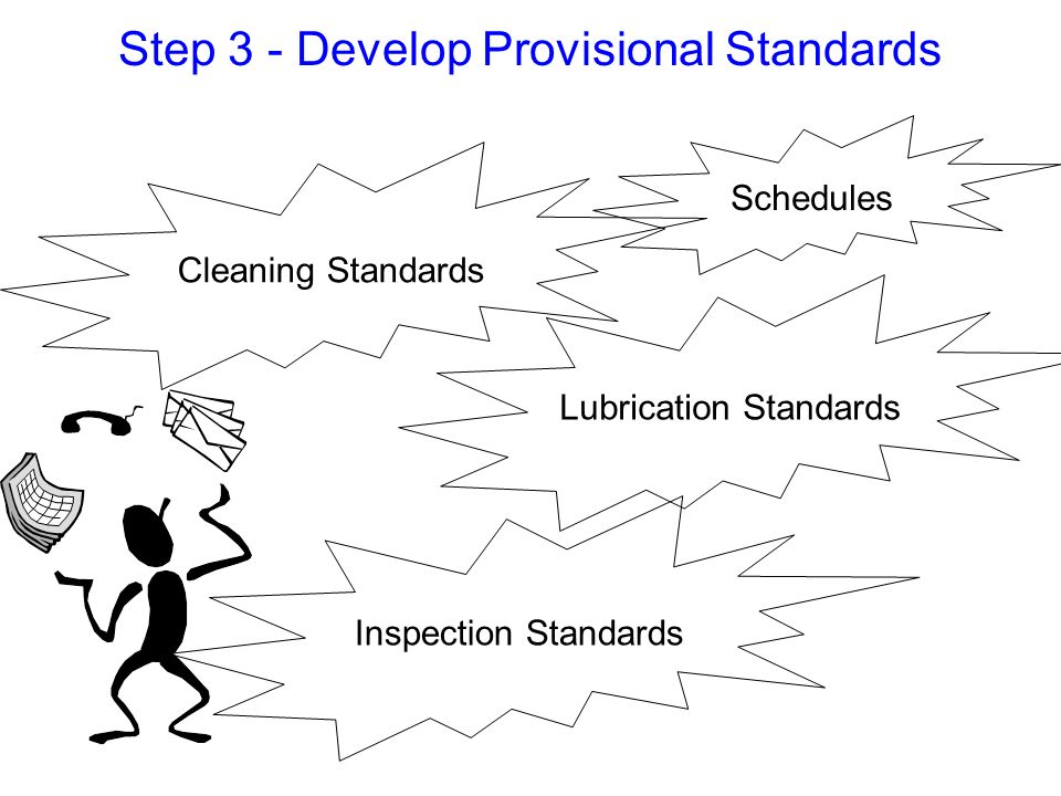Step 3 - Develop Provisional Standards