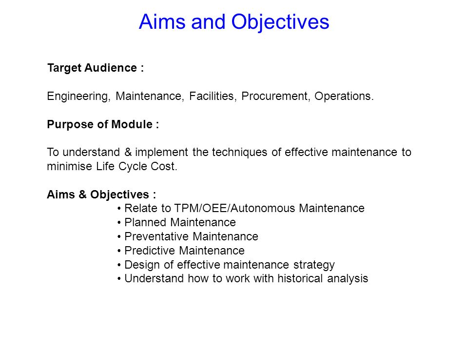 To show Best Practice with Airbus UK and the outside world