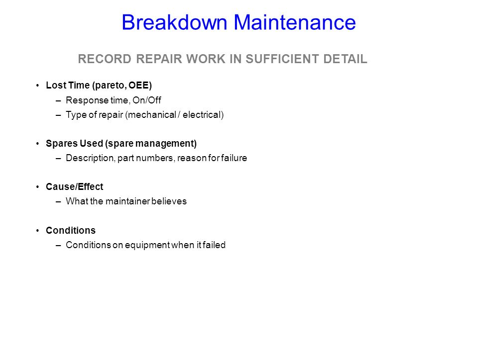 7 Breakdown Maintenance Planning Tips With CMMS Software