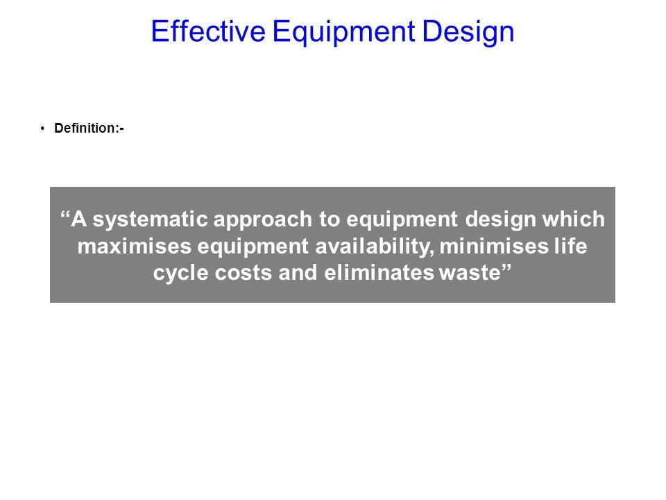 Effective Equipment Design