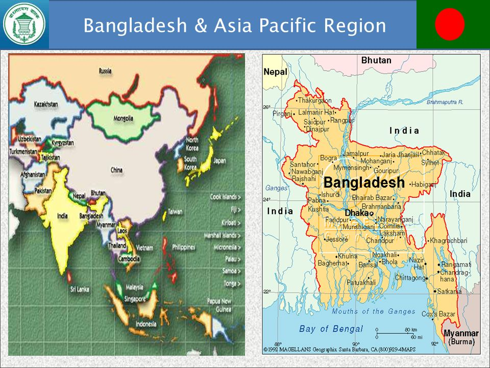 Bangladesh & Asia Pacific Region