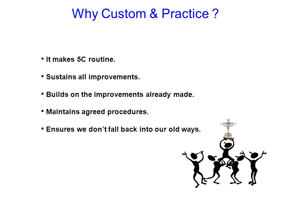 Why Custom & Practice It makes 5C routine.