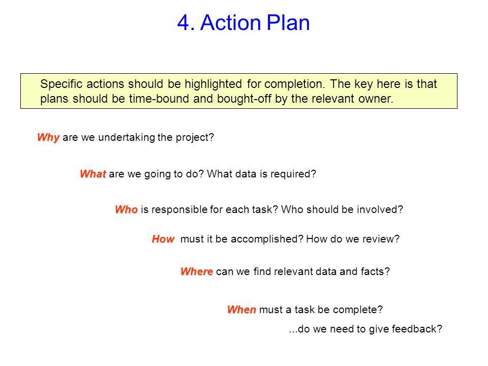 4. Action Plan