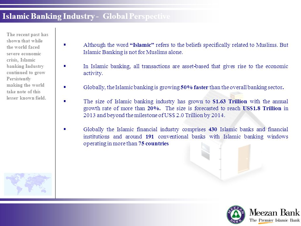 Islamic Banking Industry - Global Perspective