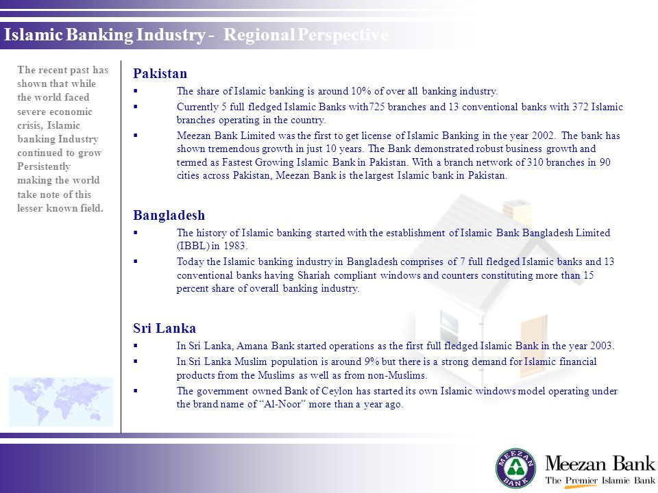 Islamic Banking Industry - Regional Perspective