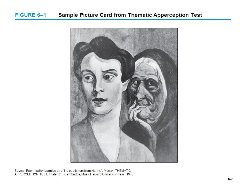 thematic apperception test interpretation example