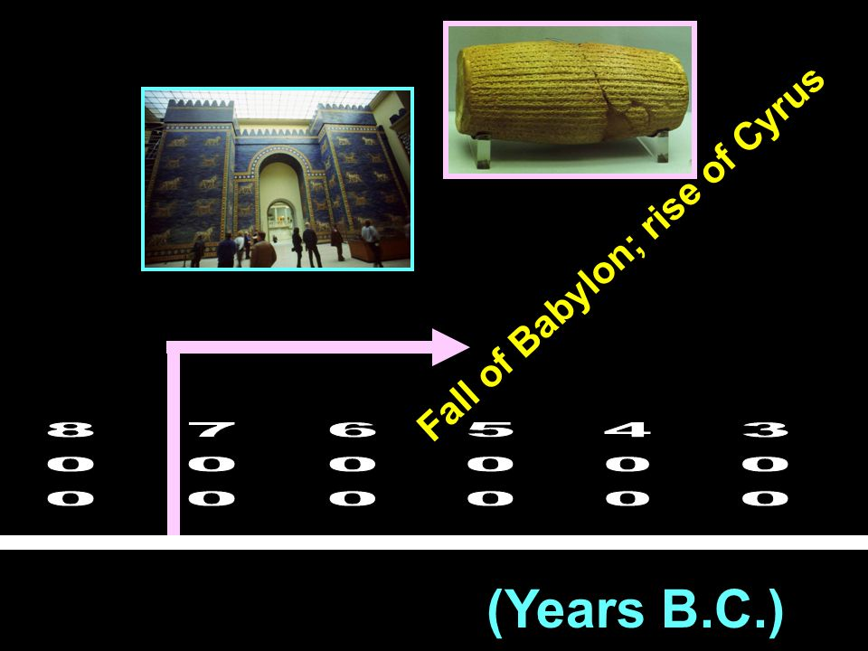 Fall of Babylon; rise of Cyrus