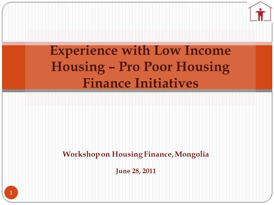 Workshop on Housing Finance, Mongolia