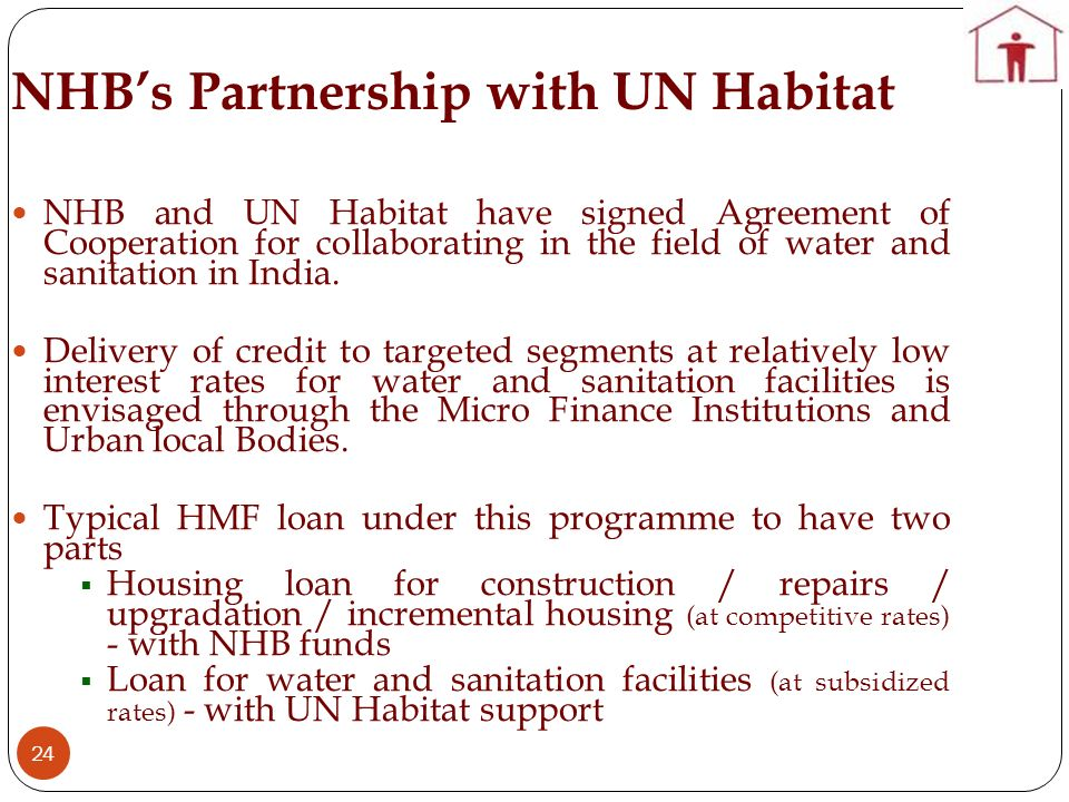 NHB's Partnership with UN Habitat