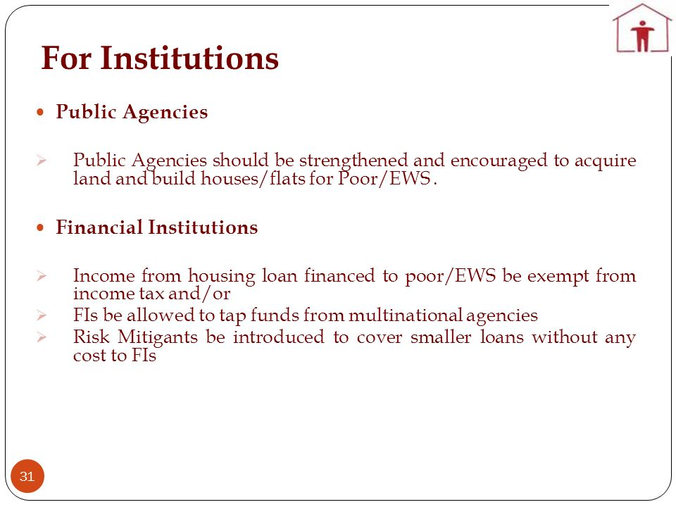 For Institutions Public Agencies Financial Institutions