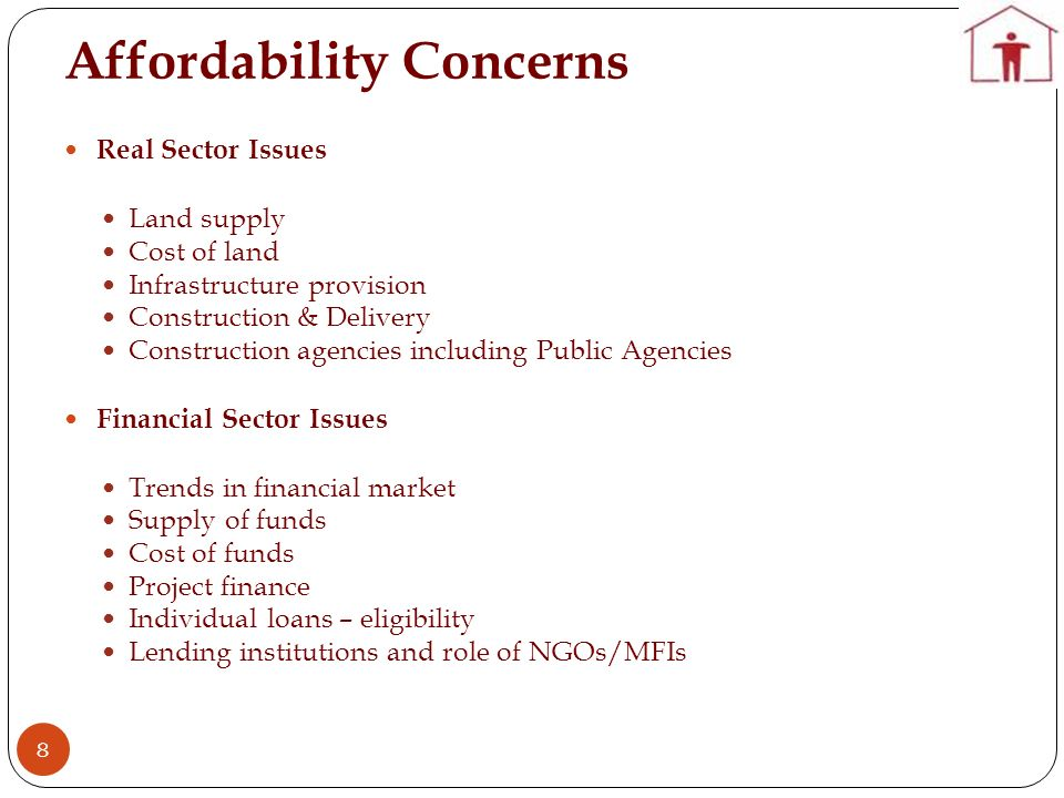 Affordability Concerns