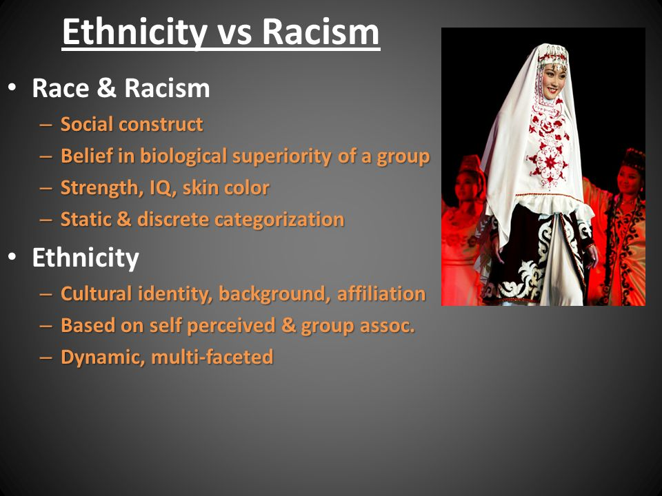 race and ethinicity