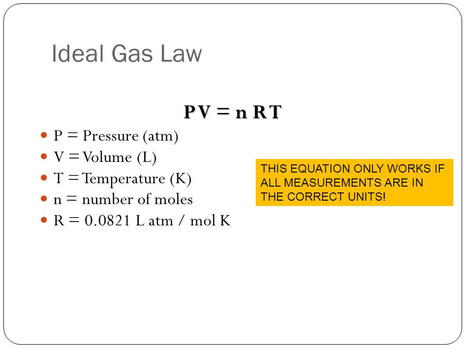 ideal gas law  u0026 gas stoichiometry