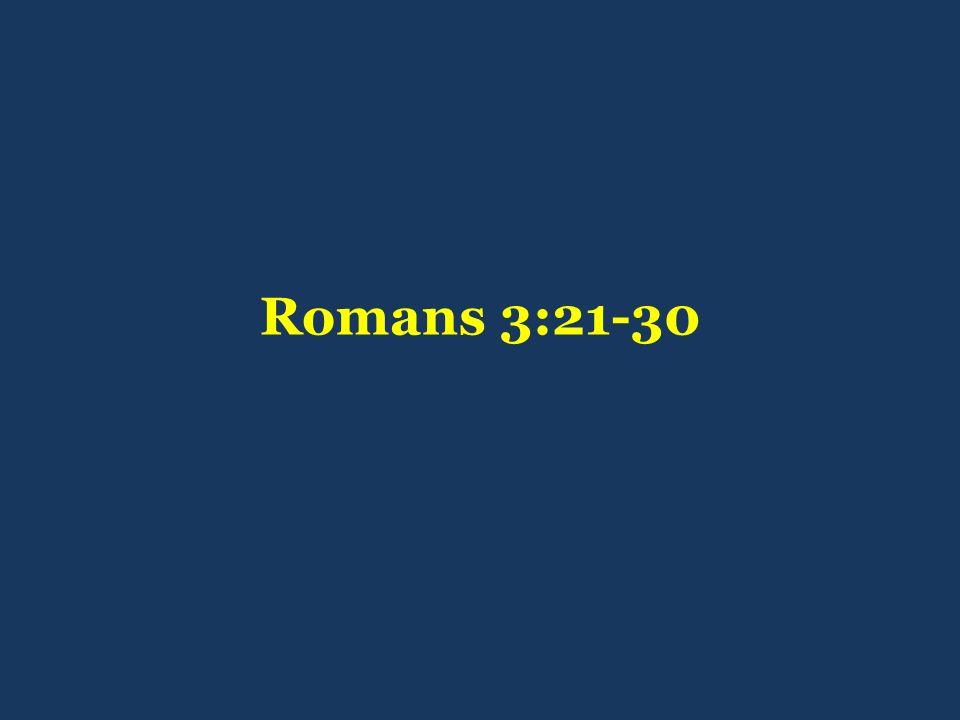 Romans 3:21-30