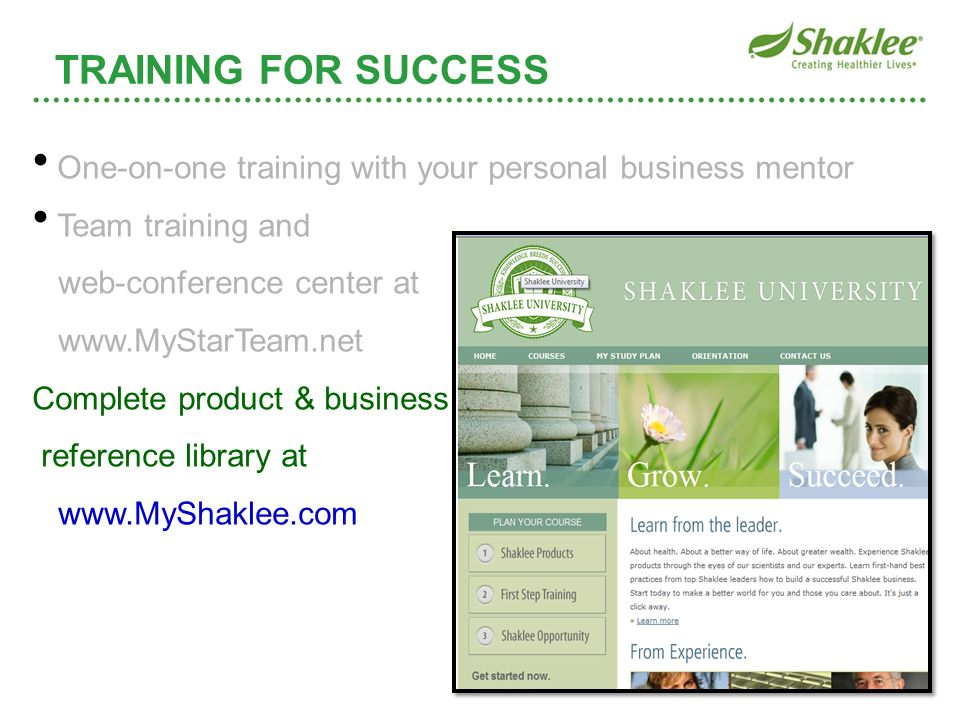 One-on-one training with your personal business mentor