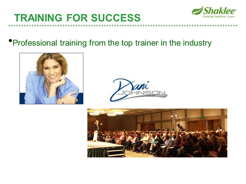 Professional training from the top trainer in the industry