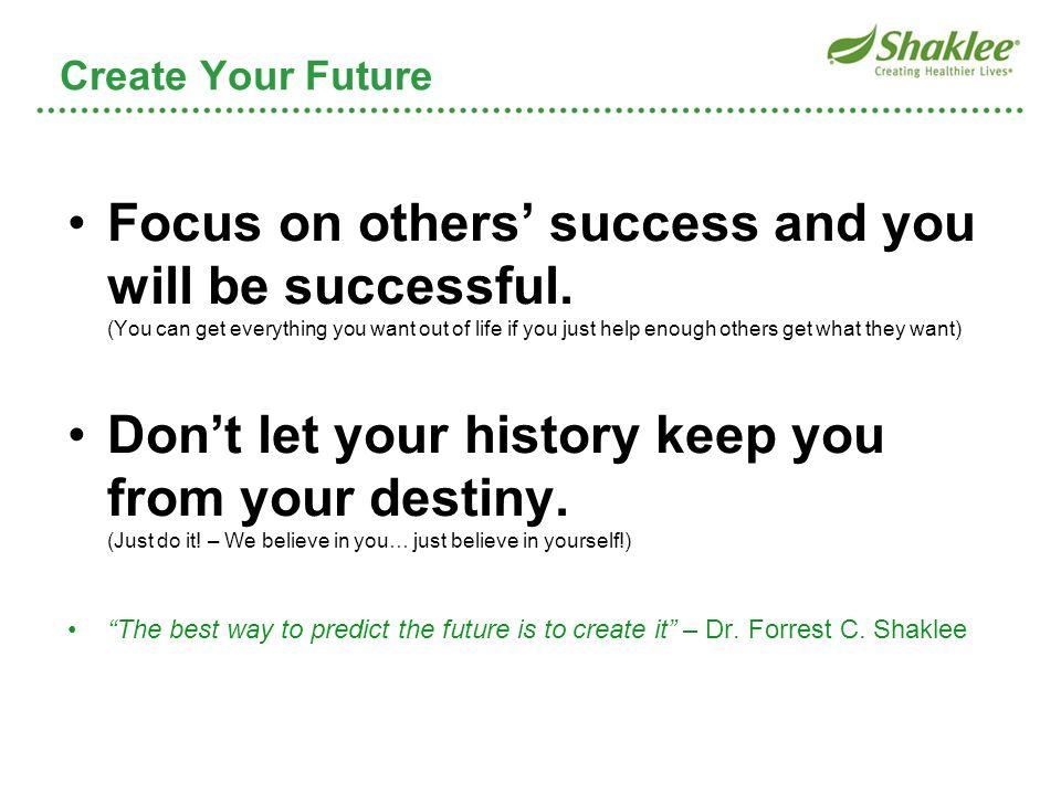 Create Your Future Create Your Future.