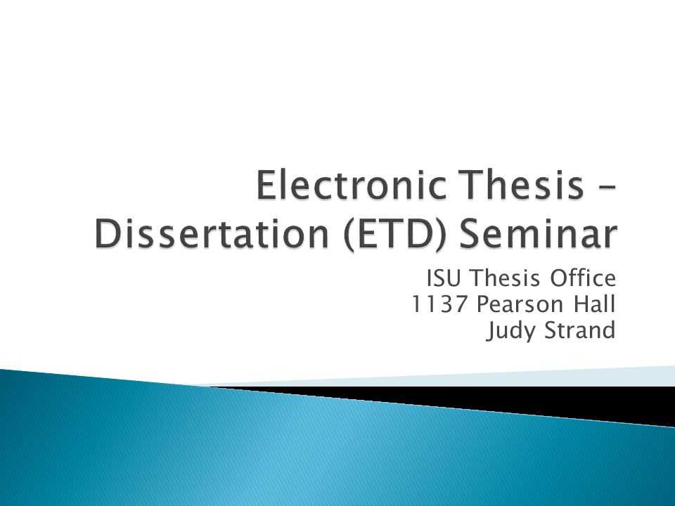 etd phd thesis Etd deadlines every master thesis and doctoral student has three etd deadlines to meet in sequential order: three etd deadlines etd review deadline.