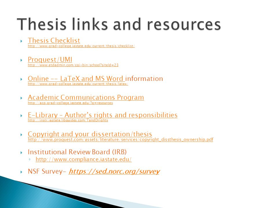 proquest electronic thesis dissertation etd administrator This electronic thesis and dissertation (etd) style guide is intended to assist  you in the preparation of  thesis or dissertation directly to proquest/uvm online  officials  administrator who will be reviewing your graduate work if you have.