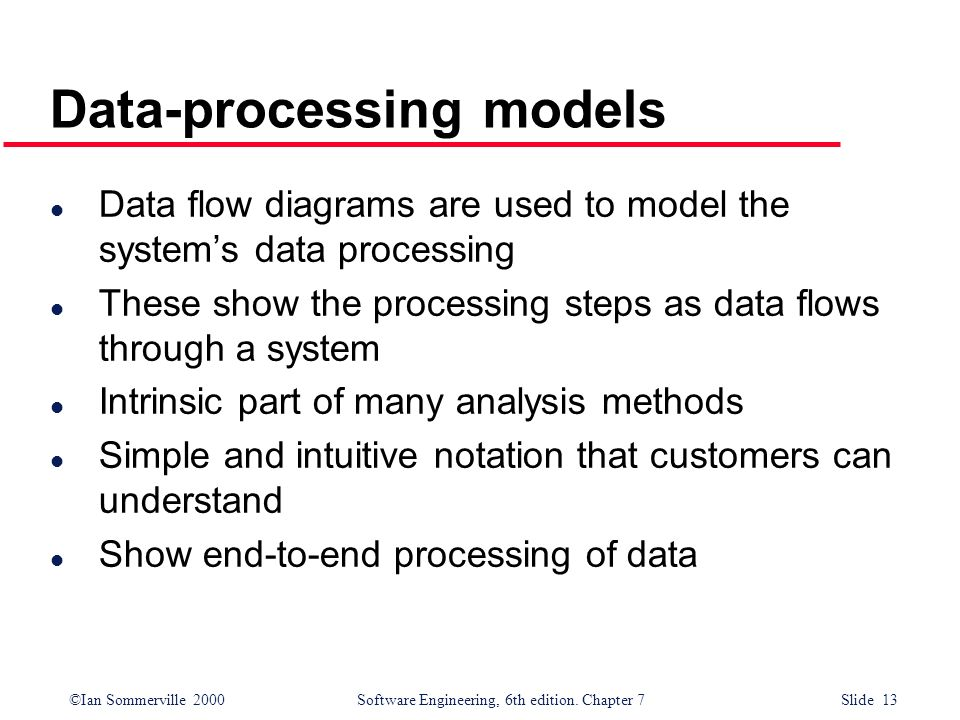 Data-processing models