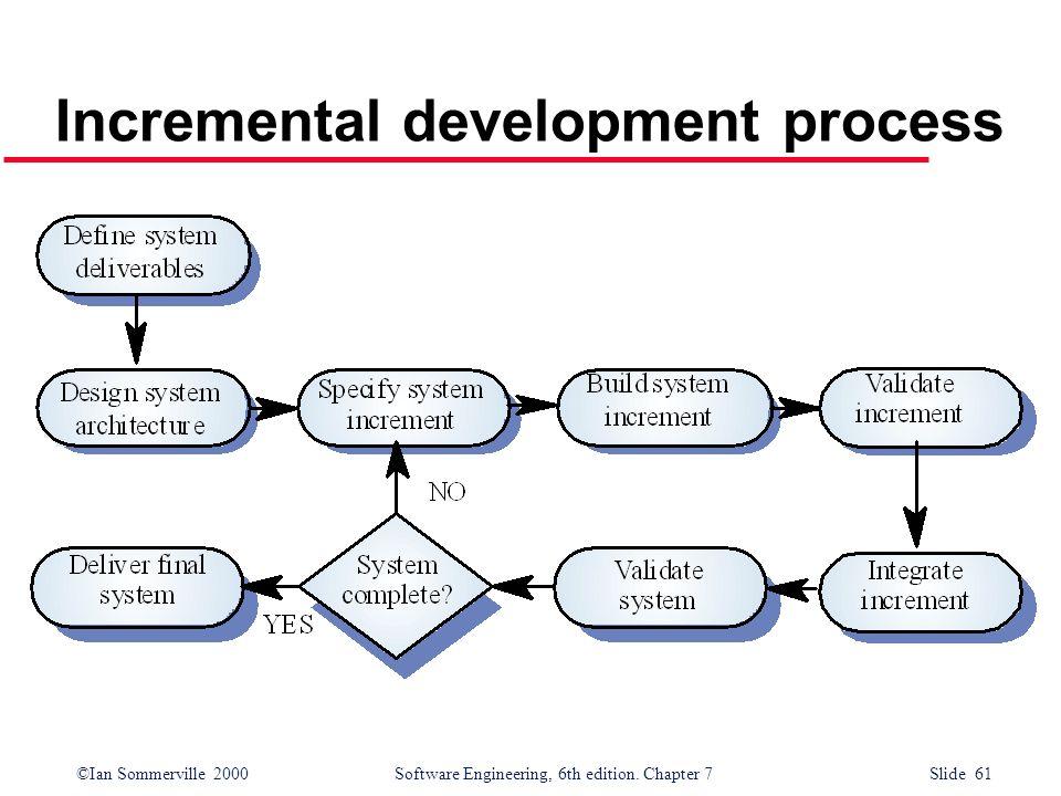 Incremental development process