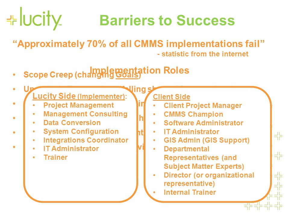 barriers to the successful implementation of Many healthcare observers are showing increased support for the  implementation of complex care management teams as an effective means.