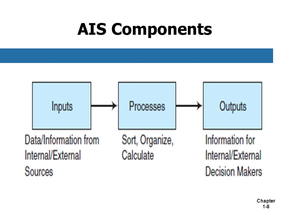 Components of a Computerized Accounting System