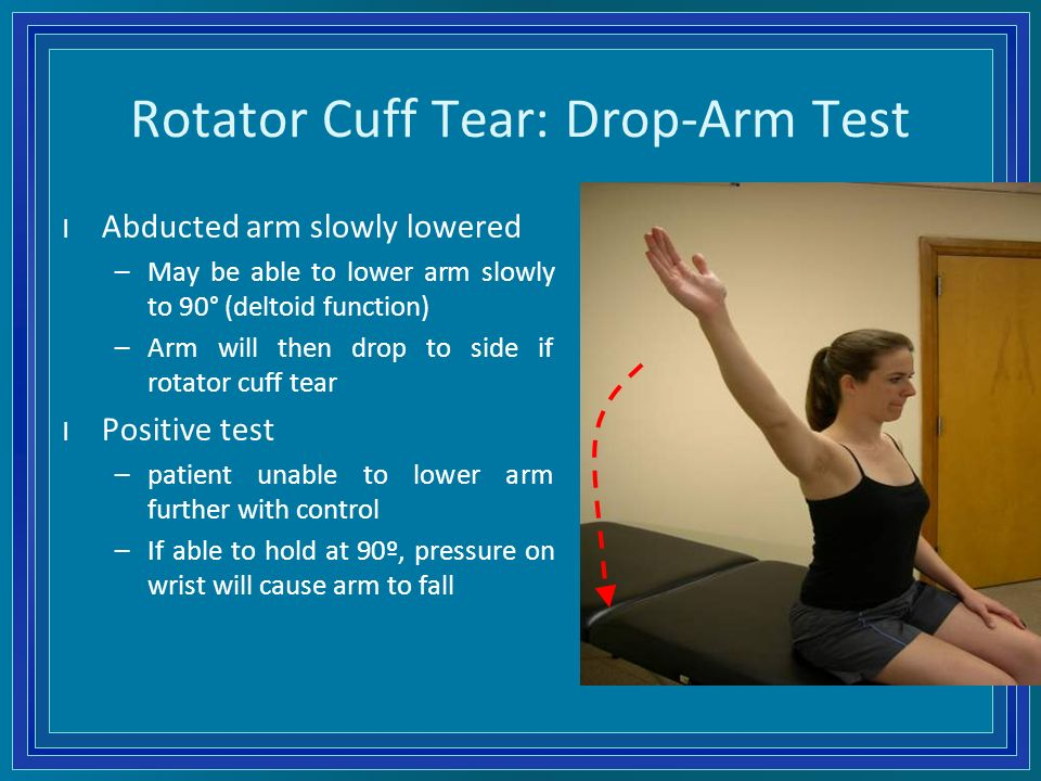 how to train arms with rotator cuff injury