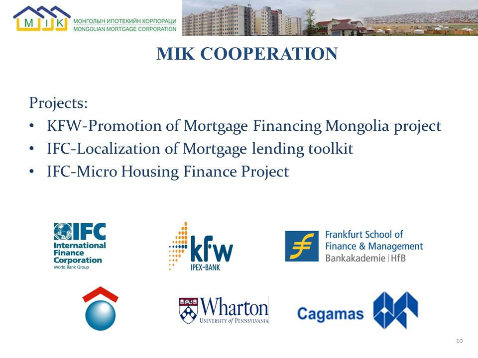 МIK COOPERATION Projects: